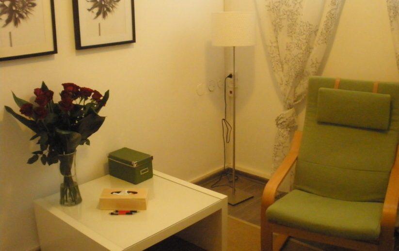 חדר טיפול פסיכולוגי